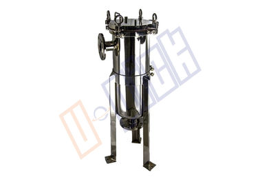 316L Stainless Steel Polish 2 # Single Bag Filter Housing Dalam Proses Produksi Minuman