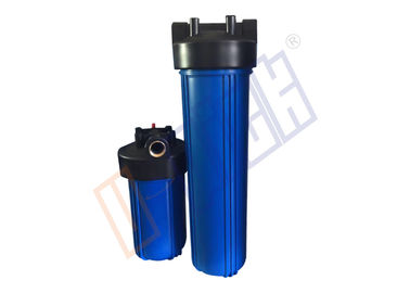 1,5 Inch Big Blue Water Filter Perumahan PP Dan Outlet Kuningan Inlet